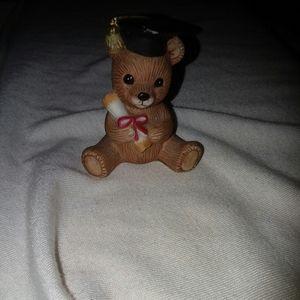 Vintage HOMCO Porcelain Bear Figurine - #1413